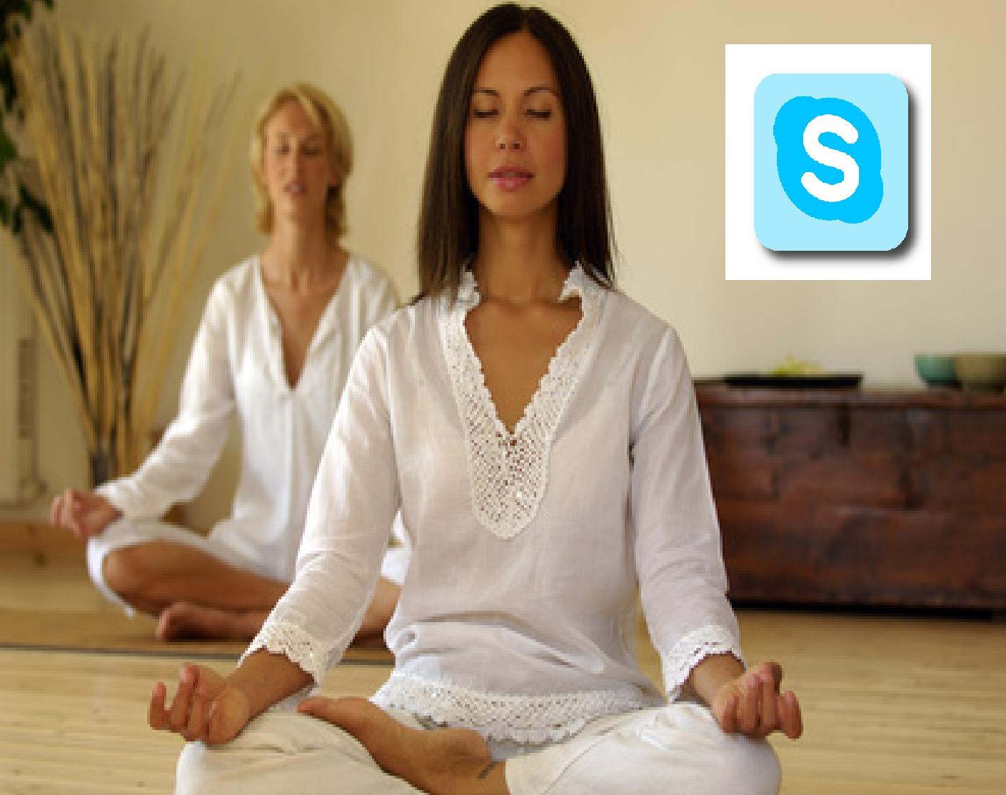 Méditation sur skype